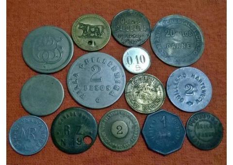 Compro ! Fichas de La Forestal - vales Medallas - pago efectivo - Whatpp 3482 242339 - Roberto