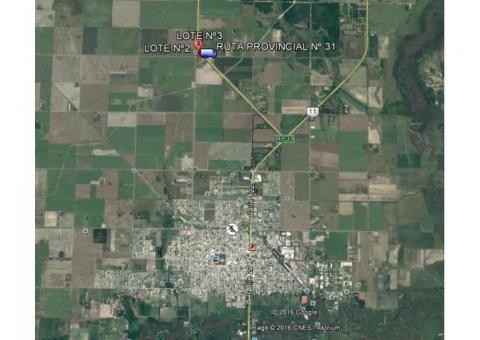 Grandes terrenos sobre ruta 31