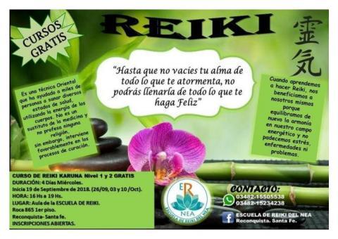 CURSO GRATUITO DE REIKI KARUNA NIVEL 1 Y 2
