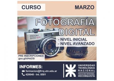 FOTOGRAFÍA DIGITAL - UTN