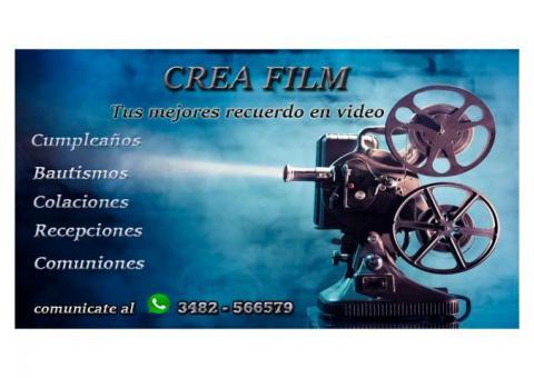 Crea Film, tus mejores recuerdos en video.