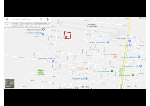 Se vende terreno de 10X30 en Avellaneda.