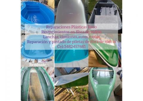 Reparaciones plasticas