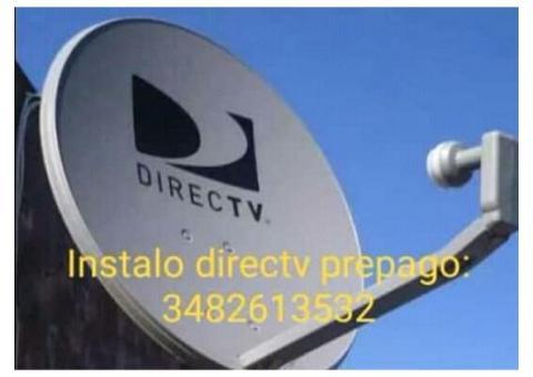 Instalo directv prepago