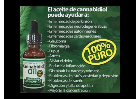 Aceite medicinal CBD