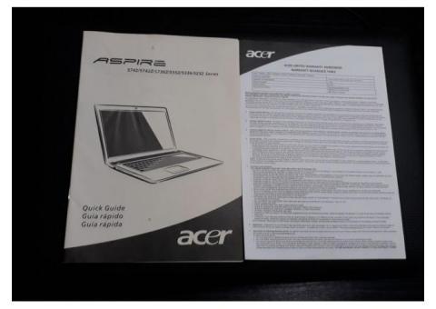 Notebook Acer Aspire 57422/4906