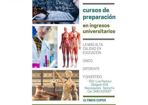 Preparación en ingresos universitarios