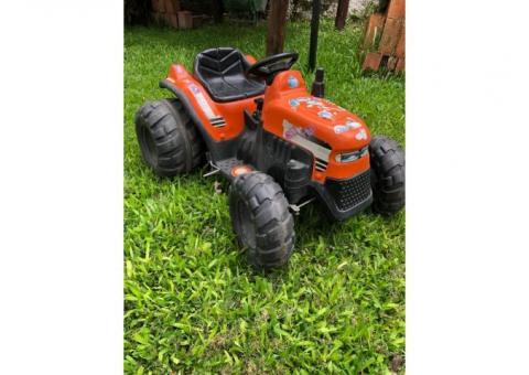 Tractor eléctrico 6v