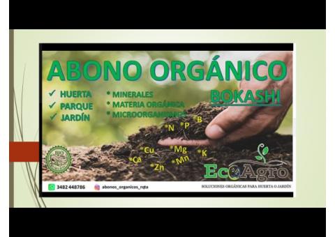 Abono orgánico BOKASHI