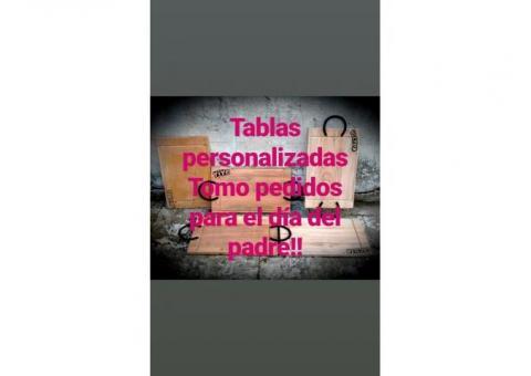 TABLAS PERSONALIZADAS ASADOS / PICADAS