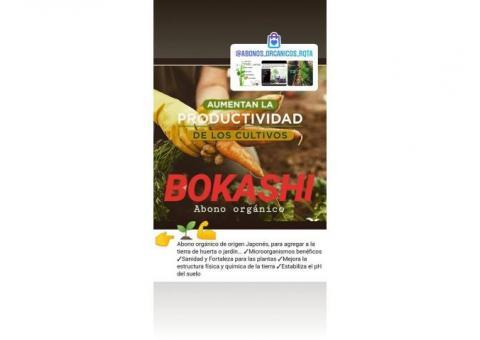 Abono orgánico para todo tipo de plantas