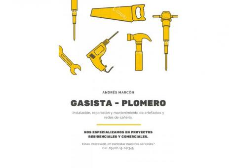 gas - plomeria