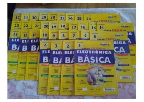 Colección Cekit Electronica Analogica y Digital.