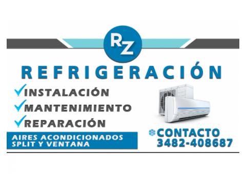 REFRIGERACIONES E INSTALACIONES DE AIRES ACONDICIONADOS