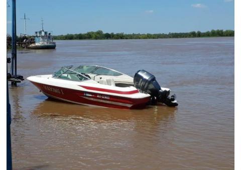 Lancha Modelo Sirena Motor Yamaha 115 HP.