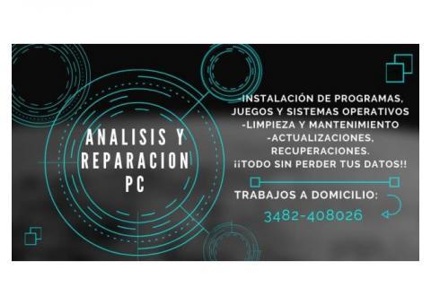 Reparación de PC y Creación de programas