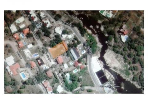 Lote en Villa Carlos Paz  50 mts. del Balneario
