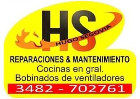 H.S. reparación