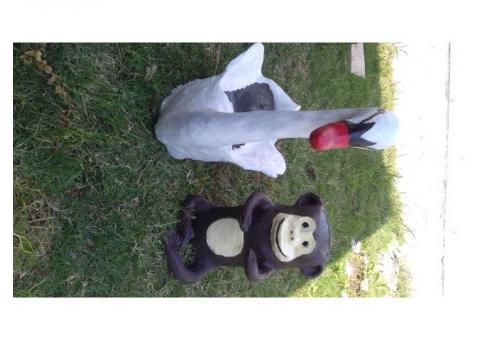 Macetas y animales hechos en cemento consultar al whattsapp 3482655307