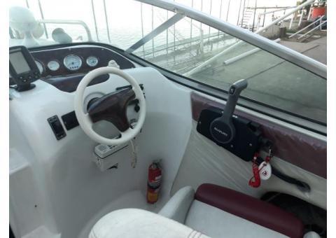 Casco lancha  cabinada Cuddy S/motor