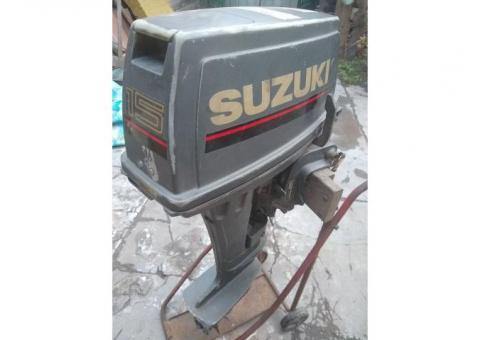 Motor Suzuki 15 2 tiempos