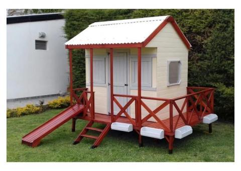 casitas infantiles para niños de madera