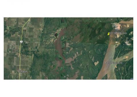 339 hectareas, Zona de Islas. Las Toscas.