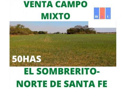 """VENTA: 50HAS MIXTAS EN """"EL SOMBRERITO"""""""