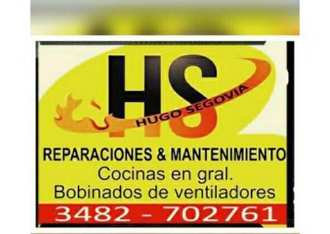 HS reparación