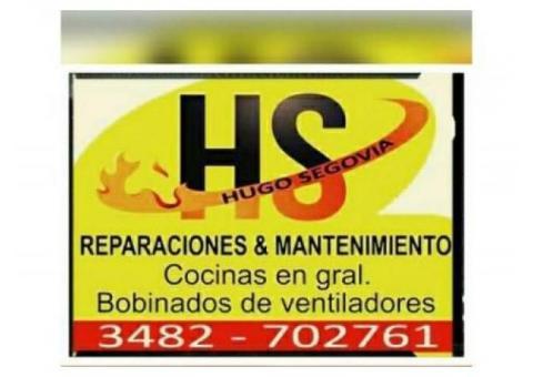 hs reparacion domiciliaria