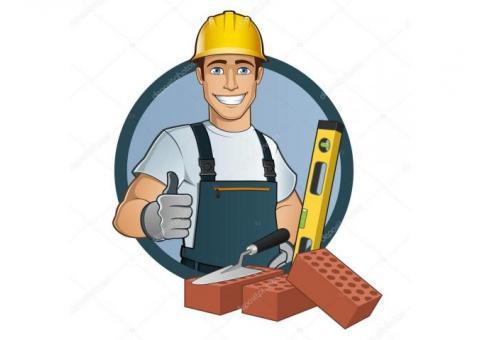 Hola hago trabajos de albañilería de todo tipo reparaciones, ampliaciones,revestimientos, etc.