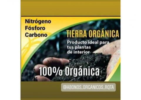 Tierra Fértil Orgánica //  Bokashi Abono Orgánico