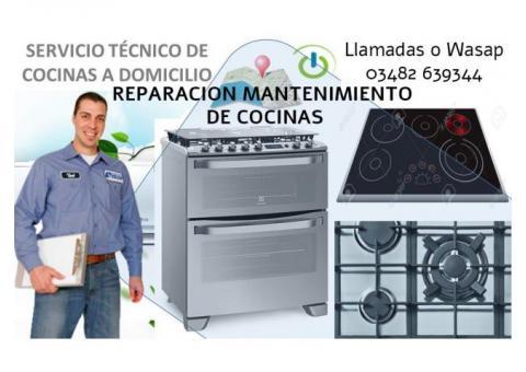 Reparación y Limpieza de COCINAS - HORNOS - LIMPIEZA DE PICOS - Te llevamos una cocina.